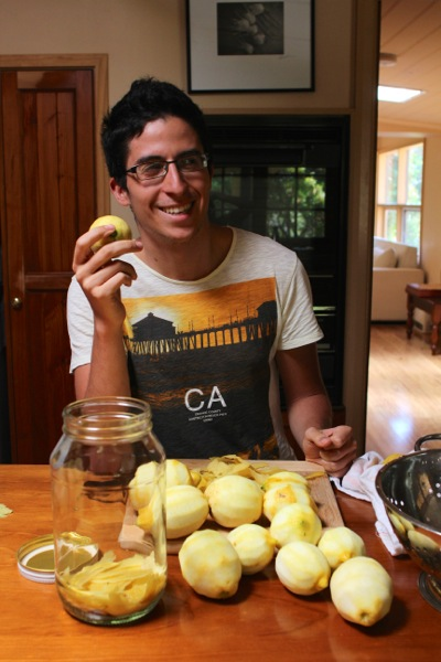 Carmelo, the Italian who taught us how to make limoncello