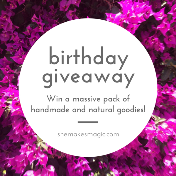 Fourth birthday giveaway